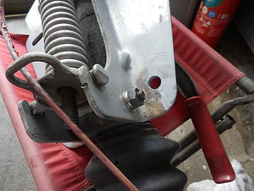 オーバーラン部分の修理と補強、、、