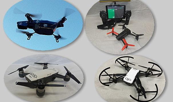 AR.Drone、Bebop Drone、Spark、Tello