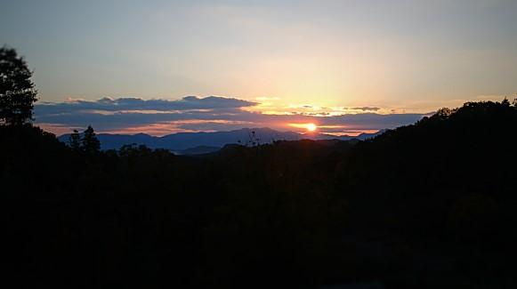 日の出 空撮