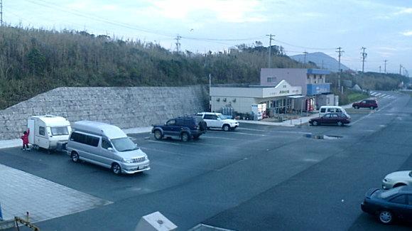 日出の石門 駐車場