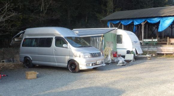 ゆうパークおごせ キャンプ場