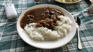 村カフェ カレーライス