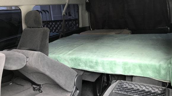 ハイエース用自作ベッド